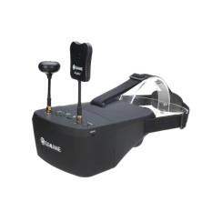 Eachine EV800D 5.8g 40CH Keanekaragaman FPV Goggles 5 Inch 800*480 Video Headset HD DVR Bangun Baterai -Intl