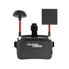 Eachine Vr006 Vr-006 3 Inch 500*300 Display 5.8g 40ch Raceband Mini Fpv Goggles Bangun Baterai- Intl By Freebang