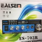 Harga Ealsem Es703 Amplifier Karauke Ac Dc Usb Fm Radio