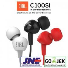 Beli Earphone Headset Handsfree Jbl C100Si Ori Garansi Resmi Segel Jbl