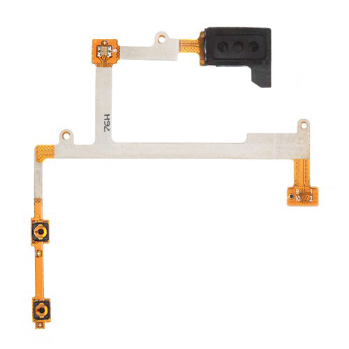 Earpiece Speaker Kabel Fleksibel Suku Cadang untuk Samsung Galaxy S3 S III SGH-i9305 I9300 I535 I747 L710 T999-Intl