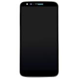 Toko Tampilan Lcd Digitizer Bingkai For Lg Optimus G2 D802 Hitam Lengkap Tiongkok