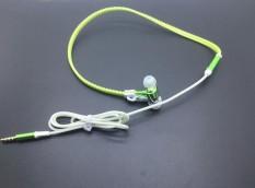 Eason Store 3.5mm Light Headphone MIC Earphone Headset Ritsleting Luminous In-Ear headphone (
