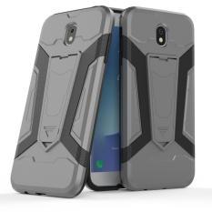 EastJava Case Kick Stand for Samsung Galaxy J7 Pro 2017 Robot Transformer Ironman Limited - Abu-Abu