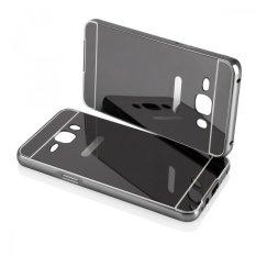 EastJava Hardcase Aluminium Bumper Mirror For Samsung Galaxy J5 2016 - Black