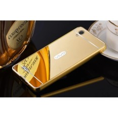EastJava Hardcase Aluminium Bumper Mirror For VIVO Y31 - Gold