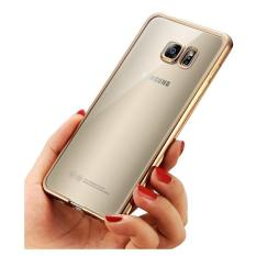EastJava Softcase Silicon Jelly Case List Shining Chrome for Samsung Galaxy J7 2016 - GoldIDR4000.