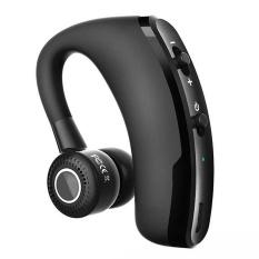 Eastor V9 Nirkabel Bluetooth Mobil Handsfree Earphone With Mic-hitam