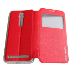 EASYBEAR Asus Zenfone 2 5.5 inchi / ZE550ML / ZE551ML Flipshell / Flipcover / Sarung Case / Case Handphone - Merah