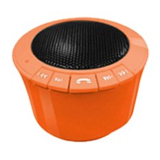 Cara Beli Ebro Bluetooth Speaker Orange