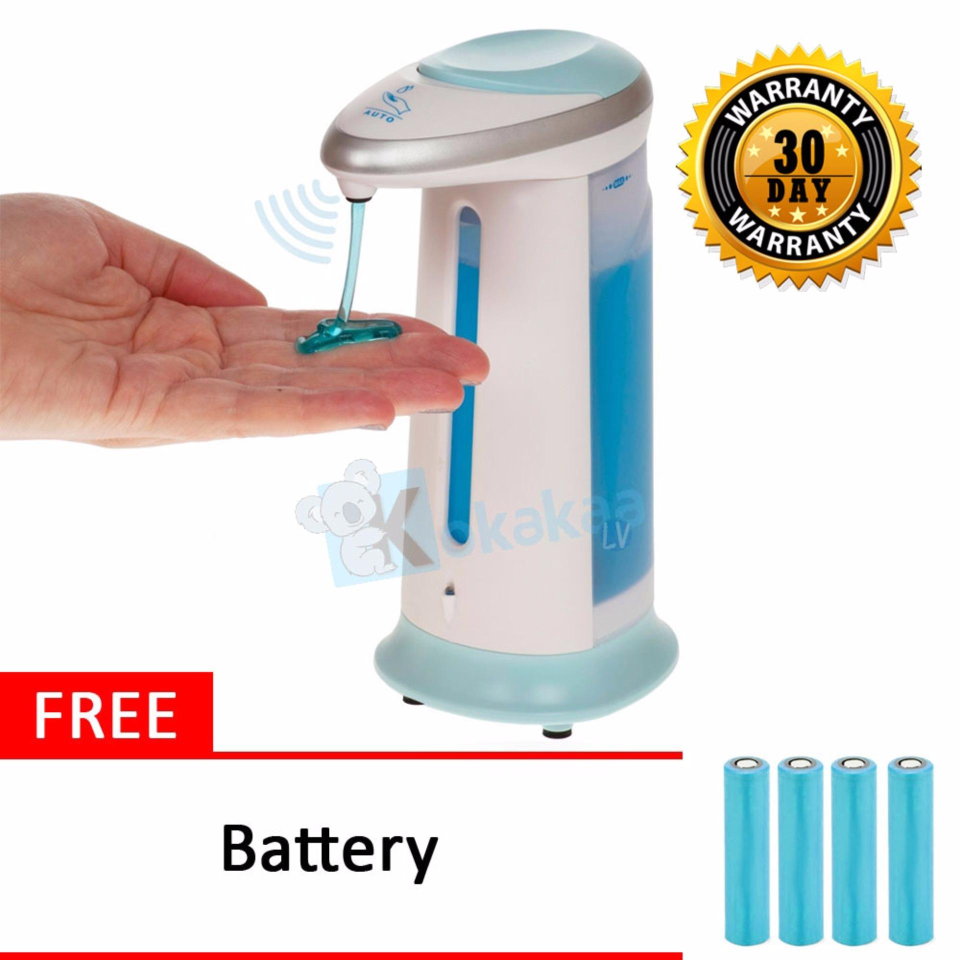 Ecomax Automatic Soap Dispenser Dispenser Sabun Sensor Otomatis Soap Magic Free Battery