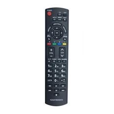 Econtrolly Diganti N2QAYB000570 Remote Control untuk Panasonic Plasma LCD HD TV TC-32LX34 TC-32LX44S TC-L19C30 TC-L24C3 TC-L3232C TC-L32C3S TC-50PX34 TC-60PS34 TC-P4232C TC-P42S30-Intl