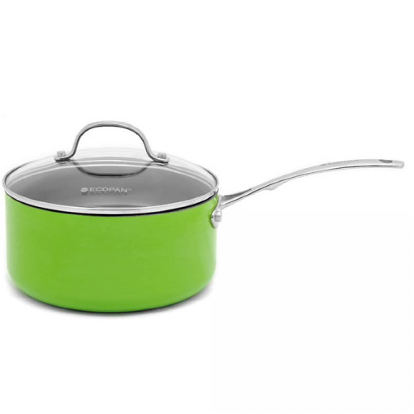 Ecopan Colour 20cm Saucepan Panci Saus- Light Green