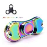 Jual Edc Metal Rainbow Fidget Cube Hand Spinner Toys Intl Branded Original