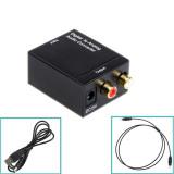 Edd Digital Optik Spdif Membujuk Untuk Sejalan L R Adaptor Konverter Audio Rca Dari Terbaru