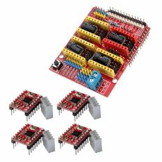 EELIC ARO-CNCSV3 -A4988 Controller Stepper Motor Driver Printer 3D +  Reprap Stepper Motor Driver Printer CNC 3D