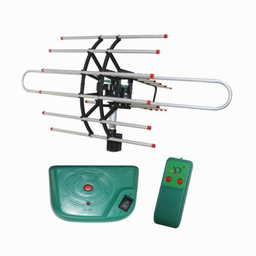 EELIC ATV-Q950 Antena Televisi Digital Outdoor Dengan Remote + Booster Rotary Berputar - Antena TV [Jawa Timur] | DuniaAudio.com