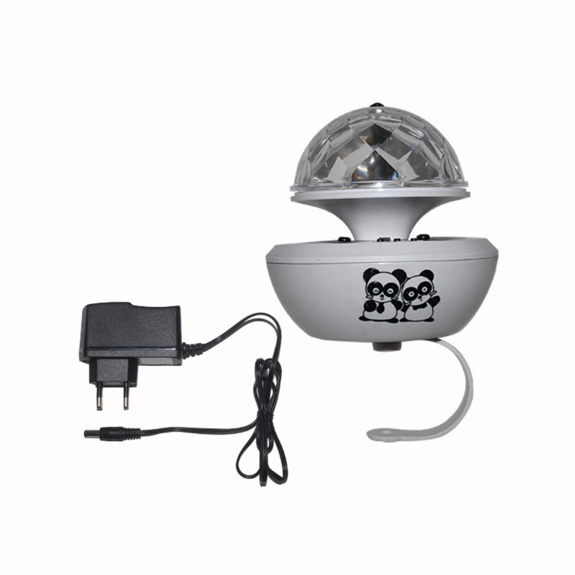 Harga Eelic Dib Me10 Lampu Hias Disco Ball Mini Mp3 Led Eelic