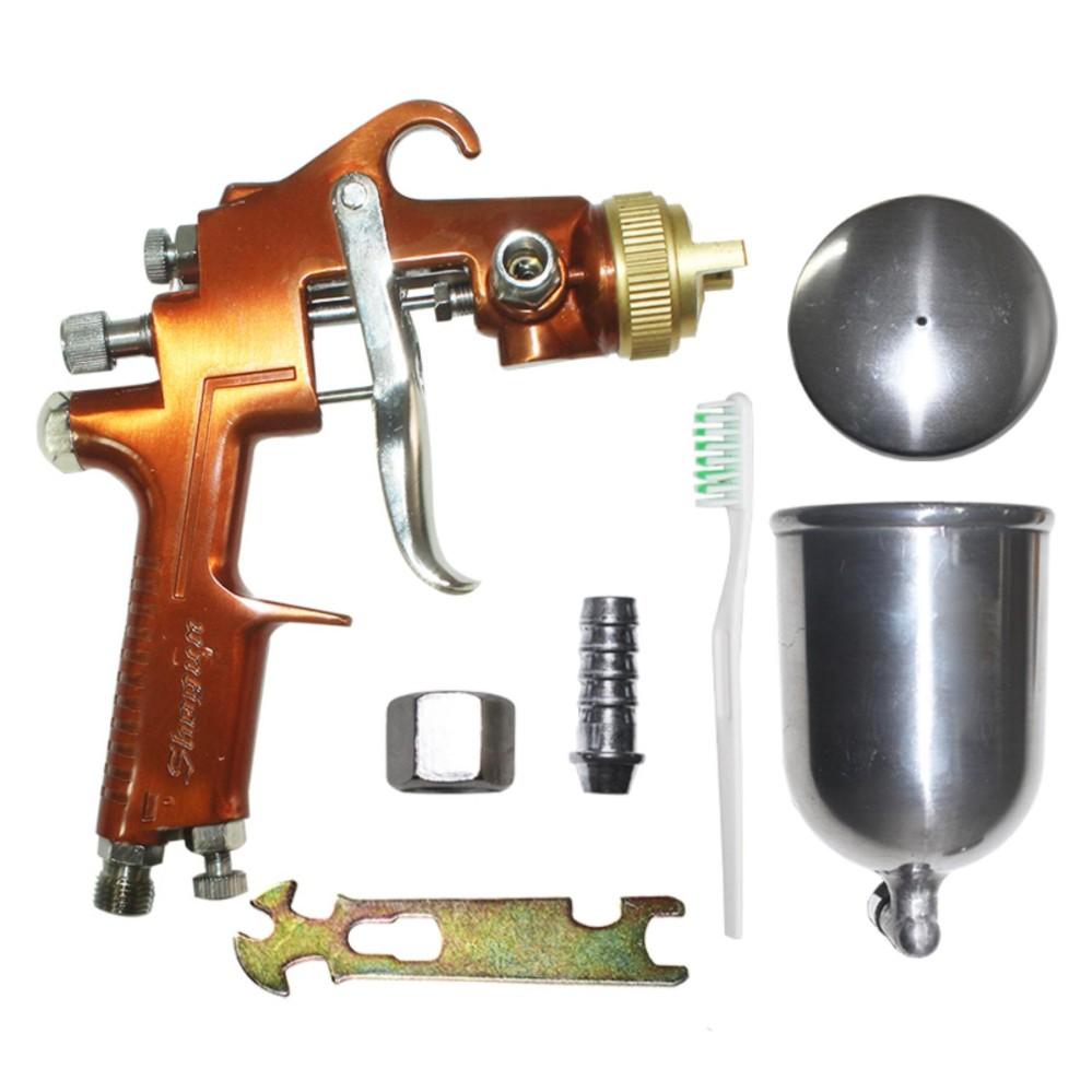 Jual Eelic Spg F100G Alat Spray Gun Air Brush Titanium Sprayer Ori