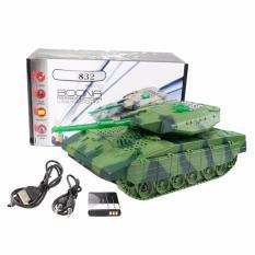 Jual Eelic Spr Ws832 Hijau Army Model Tank Mini Digital Speaker Baterai Charge Nyaring Import
