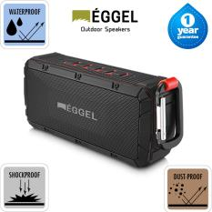 Harga Eggel Terra Waterproof Outdoor Portable Bluetooth Speaker Yg Bagus