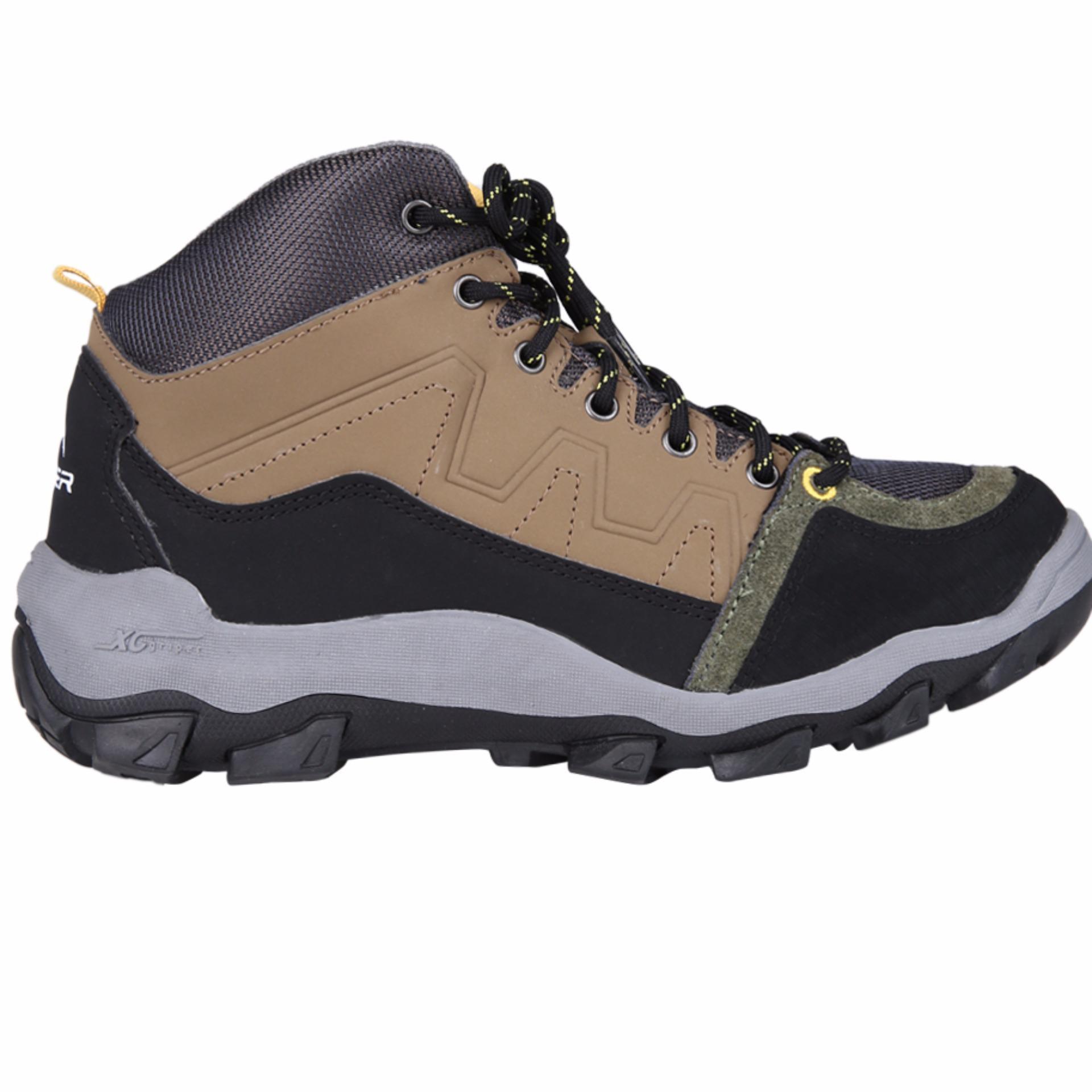 Eiger Mid Boot Shamrock - Coklat
