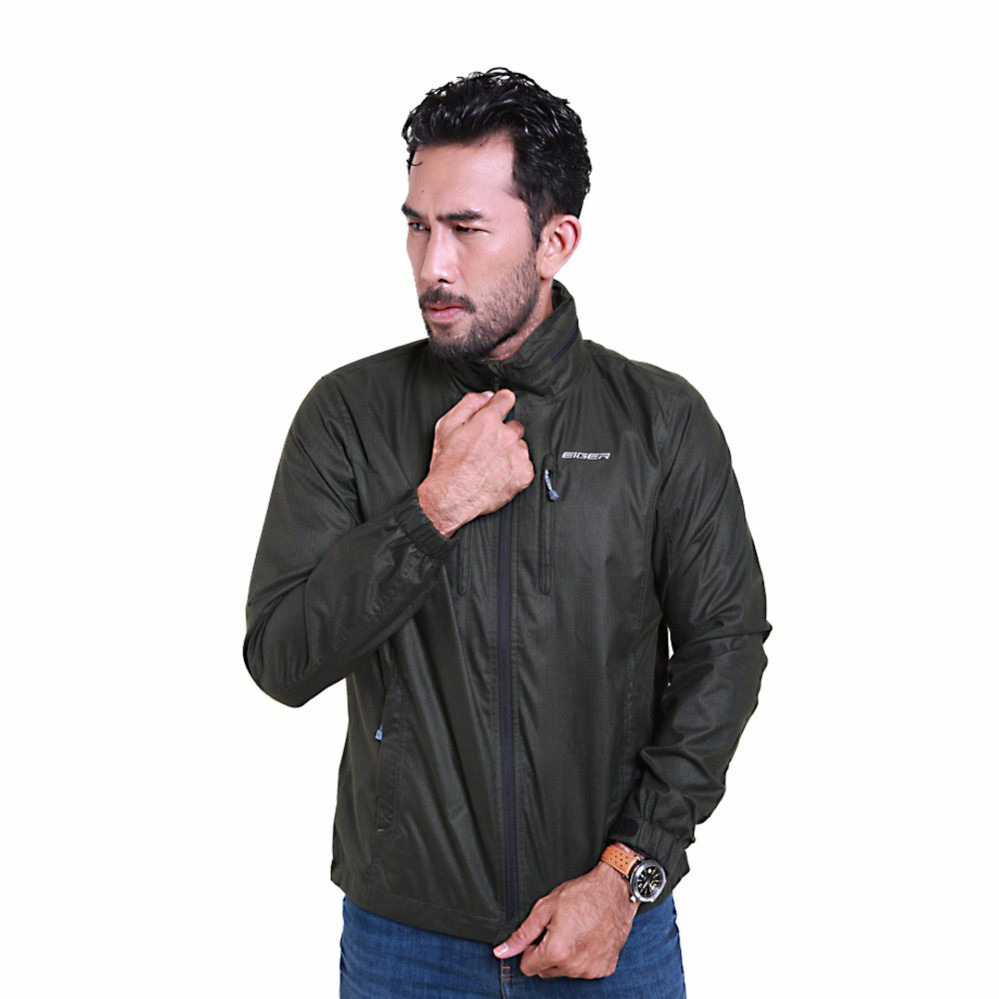 Review Pada Eiger Riding Jaket Pria Muslane Ol Olive