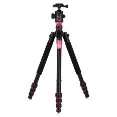 EIRMAI TP-260 5.3ft Serat Karbon 4 Bagian Tripod Kamera (Hitam)-Intl