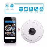 Jual Beli Online Ekleva 360 Degree Fisheye Panoramic Ip Camera 1 3 Megapixel 960P Wireless Wifi 2 4Ghz Security Camera Super Wide Angle Support Ir Night Motion Detection Keep Your Pet Home Safe Intl