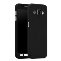 Spesifikasi Elaike Case Untuk Samsung Galaxy J3 2016 J310 Solid Warna Case Pelindung Seluruh Badan 360 Hibrida Pc Hard Tempered Glass Hitam Intl Yang Bagus Dan Murah