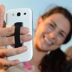 Elastis Band Menempel Ponsel & Tali Holder Cincin Jari Handle Perangkat Sling Grip untuk Smart IPhone- INTL