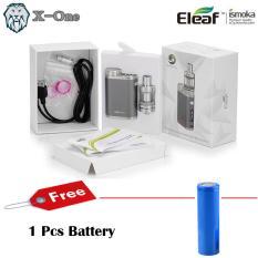 Harga Eleaf Istick Pico Starter Kit 75 Watt Rokok Elektrik Vapor Abu Abu 1Pcs Battery Eleaf