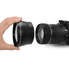 Elec 67 Mm 2.2x Lensa Telefoto untuk Canon 18-135 Mm Lensa untuk Nikon 18-105 Mm Lensa Hitam