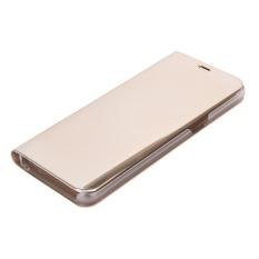 Electroplating Cermin Ponsel Buah Case Bening Lipat Case Sarung Emas untuk Samsung S8-Internasional