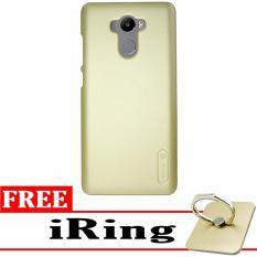 Nilkin Back Cover Case For Xiaomi Redmi 4 - Gold + Gratis iRing