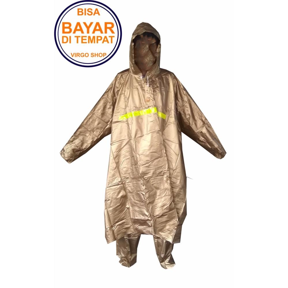 Toko Elephant Jas Hujan Ponco Lengan Celana Varia Poncho Dewasa Varia Coklat Keemasan Terlengkap Di Jawa Barat