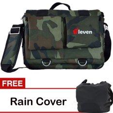 Toko Eleven Tas Kamera Army Gratis Rain Cover Termurah Jawa Timur