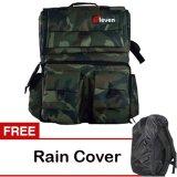 Beli Eleven Tas Kamera Ransel Army Hijau Gratis Rain Cover Murah Jawa Timur