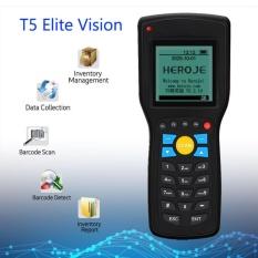 Spek Elite Wireless Barcode Terminal 1D Data Persediaan Collector Scanner Ritel Intl Oem