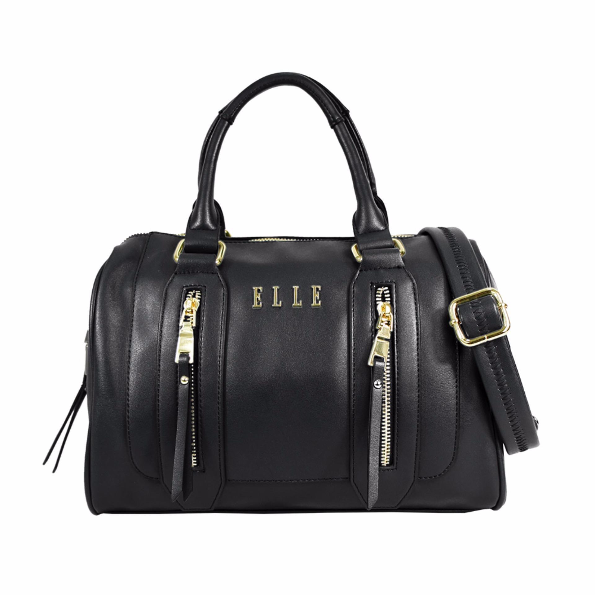Elle  40841-02 Handbag, Tas Wanita - Black
