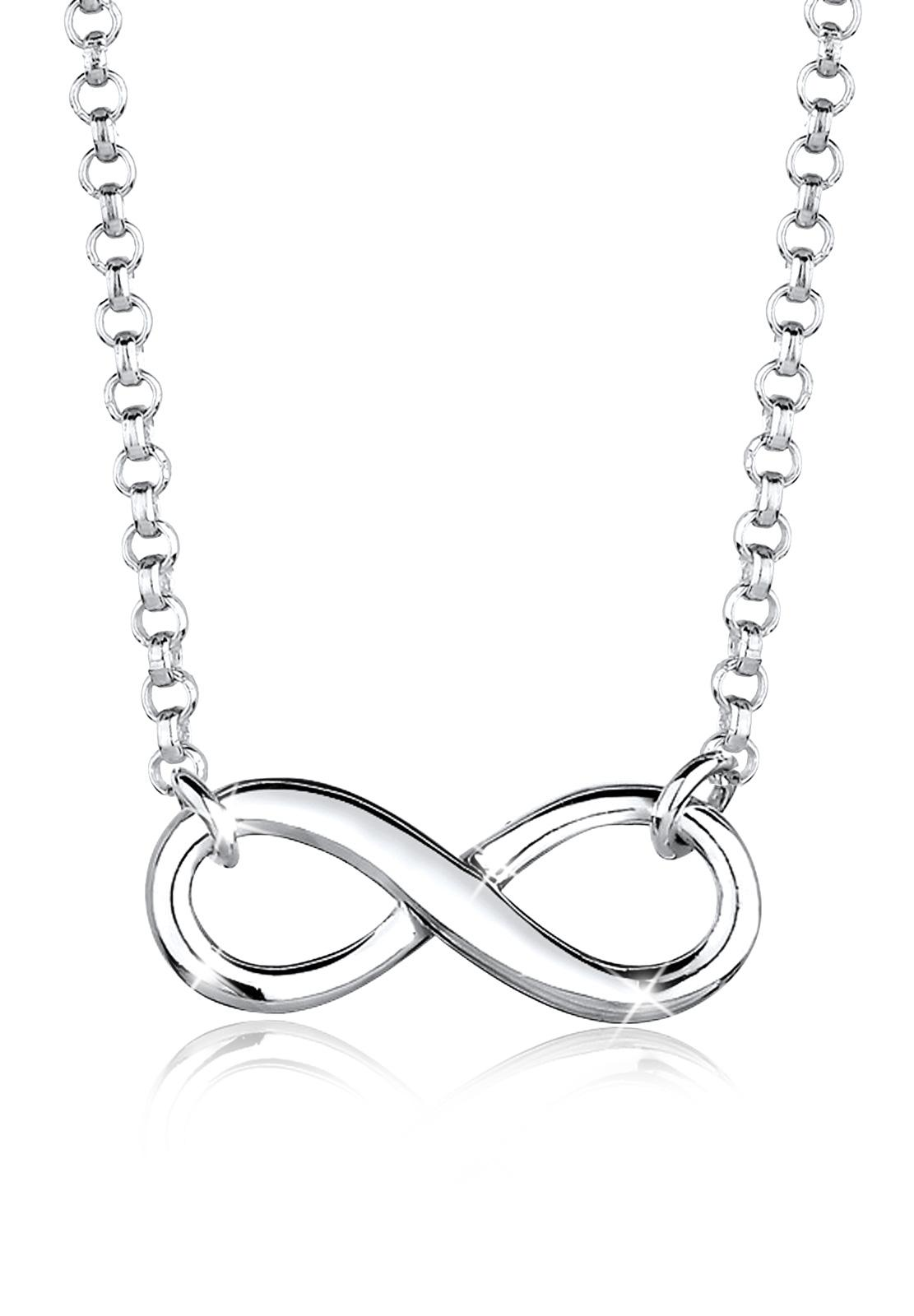Ulasan Tentang Elli Germany 925 Sterling Silver Kalung Infinity Silver