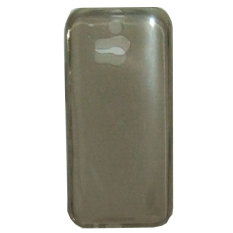 Emco For HTC One M8 Executive Premium Back Side Cover Bumper Case - Abu-abu