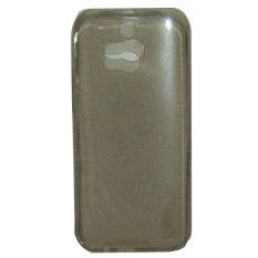 Emco for HTC One M8 Super Bumper Shield Tinted Case - Abu-abu