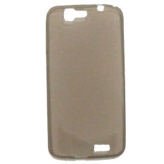 Emco For Huawei Ascend G7 Executive Premium Back Side Cover Bumper Case - Abu-abu