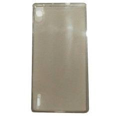 Emco For Huawei Ascend P7 Compact Bumper Shield Tinted Case - Abu-abu