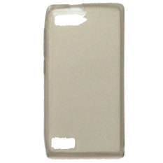 Emco for Huawei Ascend P7 mini Pudding Soft Mercury Jelly Case - Abu-Abu