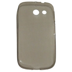 Emco for Huawei Y 340 Pudding Soft Mercury Jelly Case - Abu-Abu