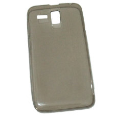 Emco for Lenovo Golden Warrior A8 Hard Protective Guard Soft Rubber Ultra Fit Silicon Case - Abu-abu