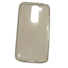 Emco for LG G2 Mini Hard Protective Guard Silicon Case - Abu-Abu