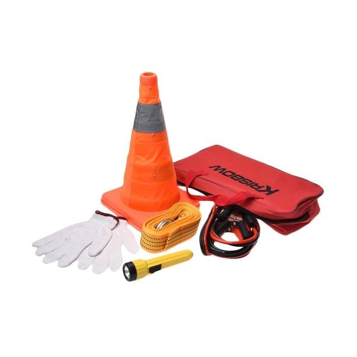 emergency kit set krisbow tools alat perlengkapan darurat mobil